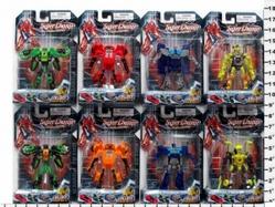 Игрушки:Роботы, трансформеры:Трансформеры, бакуганы:Трансформер HK772A Робот, в блистере 22,5*15*5см