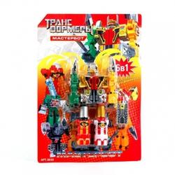 Игрушки:Роботы, трансформеры:Трансформеры, бакуганы:Трансформер 8030 Мастербот  на блистере  33*24см