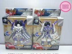 Игрушки:Роботы, трансформеры:Трансформеры, бакуганы:Трансформер 899-6 Воины Земли со светом и звуком, на батарейках в коробке 22*9*32см