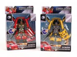 Игрушки:Роботы, трансформеры:Трансформеры, бакуганы:Трансформер 899-7 Воины Земли со светом и звуком, на батарейках в коробке 22*8,5*32см