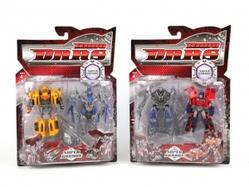 Игрушки:Роботы, трансформеры:Трансформеры, бакуганы:Трансформер HT075A Робот (2шт), в блистере 29*40*5см
