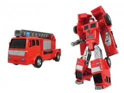 Игрушки:Роботы, трансформеры:Трансформеры, бакуганы:Трансформер 82070 Xbot-Пожарная машина, в коробке Happy Well
