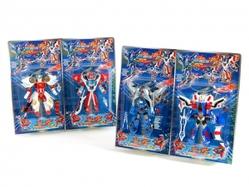 Игрушки:Роботы, трансформеры:Трансформеры, бакуганы:Трансформер HE581A Робот, в блистере 36*21,5*4,5см