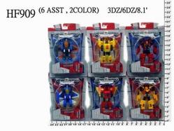 Игрушки:Роботы, трансформеры:Трансформеры, бакуганы:Трансформер HF909A Робот, в блистере 9*8см