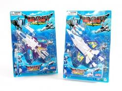 Игрушки:Роботы, трансформеры:Трансформеры, бакуганы:Трансформер HE644D Самолет, в блистере 33*23*5,50см
