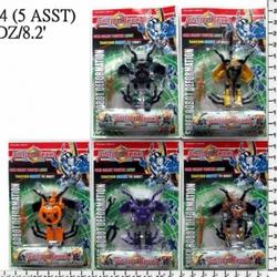 Игрушки:Роботы, трансформеры:Трансформеры, бакуганы:Трансформер HN244A насекомое, в блистере