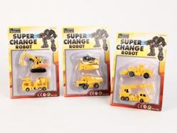 Игрушки:Роботы, трансформеры:Трансформеры, бакуганы:Трансформер HF372B Машина (2шт.), в блистере 17*25*4,5см