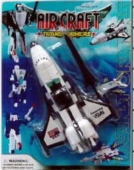 Игрушки:Роботы, трансформеры:Трансформеры, бакуганы:Трансформер HM627A Самолет, в блистере 20см