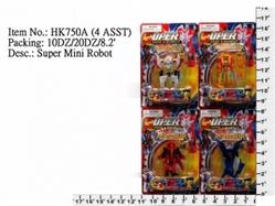 Игрушки:Роботы, трансформеры:Трансформеры, бакуганы:Трансформер HK750A Робот, в блистере 8*5,5см