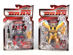 Игрушки:Роботы, трансформеры:Трансформеры, бакуганы:Робот HG128A 2 шт, в блистере 31,5*48*6,5см