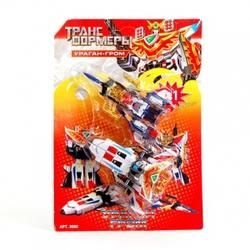 Игрушки:Роботы, трансформеры:Трансформеры, бакуганы:Робот 8060 Ураган-Гром  в блистере 33*24см JOY TOY