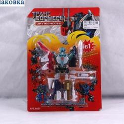Игрушки:Роботы, трансформеры:Трансформеры, бакуганы:Робот 8025 Оруженосец в блистере 26*18см JOY TOY