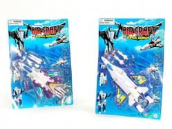 Игрушки:Роботы, трансформеры:Трансформеры, бакуганы:Робот HE644B Самолет, в блистере 23*33*7см