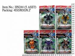 Игрушки:Роботы, трансформеры:Трансформеры, бакуганы:Робот HN244 Насекомое, в блистере 11,5*8см