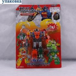 Игрушки:Роботы, трансформеры:Трансформеры, бакуганы:Трансформер 8022 Технобот на блистере 26*18см