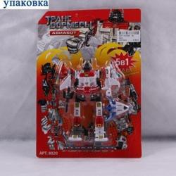 Игрушки:Роботы, трансформеры:Трансформеры, бакуганы:Трансформер 8020 Авиабот на блистере 26*18см