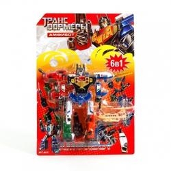 Игрушки:Роботы, трансформеры:Трансформеры, бакуганы:Трансформер 8015 Амфибот на блистере 26*18см