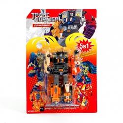 Игрушки:Роботы, трансформеры:Трансформеры, бакуганы:Трансформер 8010 Драйвер на блистере 26*18см  JOY TOY