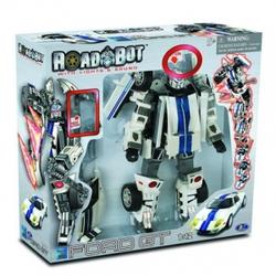 Игрушки:Роботы, трансформеры:Трансформеры, бакуганы:Трансформер 51020 Ford GT 1:12 со светом, звуком в коробке Happy Well