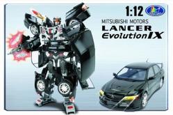 Игрушки:Роботы, трансформеры:Трансформеры, бакуганы:Трансформер 51010  Mitsubishi Lancer Evolution IX 1:12 в коробке Happy Well